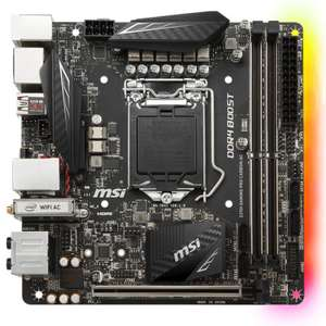 MSI Z370I Gaming Pro Carbon AC Mainboard ITX Mainboard Z370 Chipsatz - ggf. 8 Kern Support [Masterpass]