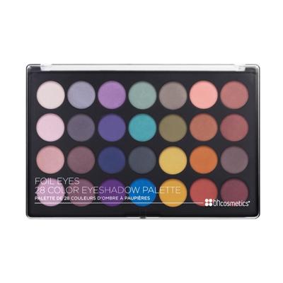 50% Rabatt auf Lidschatten-Paletten und 5% on top bei bh cosmetics, z.B. Foil Eyes Palette mit 28 Farben