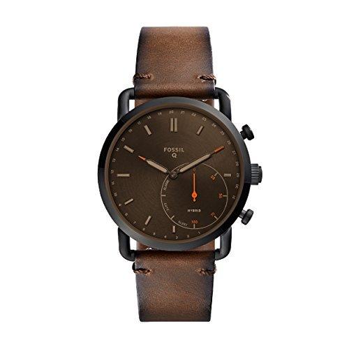 Promotions auf Uhren (neue / generalüberholt) bei Fossil + 15% mit dem Newsletter - z.B. Fossil Q Hybrid Commuter Leder SmartWatch Braun für 50€ (generalüberholt)