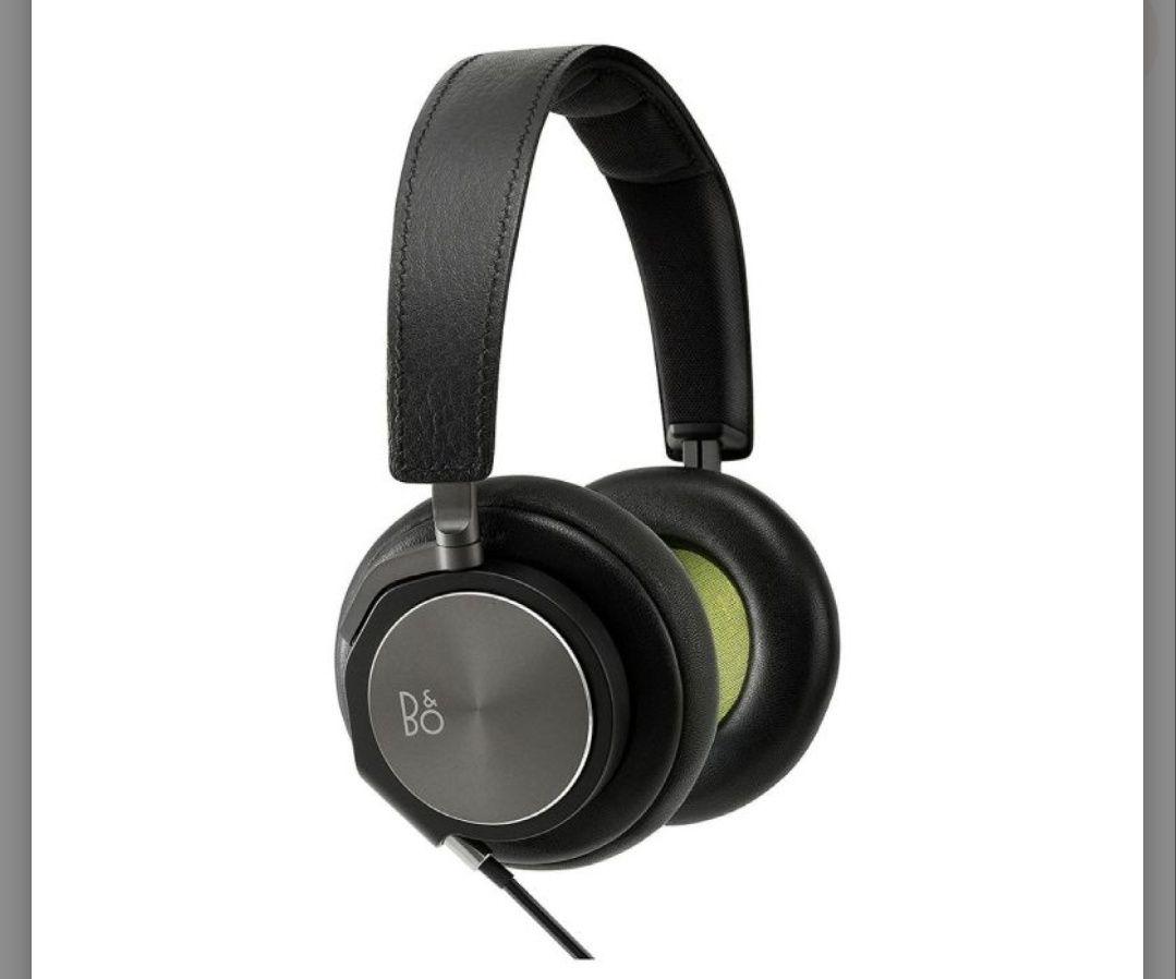 Bang & Olufsen BeoPlay H6 Premium Over-Ear-Kopfhörer, Schwarz-Leder