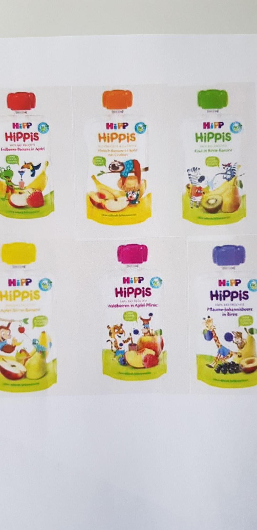 [ROSSMANN] Hipp Hippis Quetschbeutel  / Quetschies 100 ml für 0,27 € statt 0,75 €