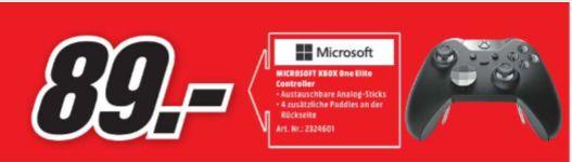 [Regional Mediamarkt Gütersloh/Lippstadt] Microsoft Xbox One Elite Wireless Controller für 89,-€