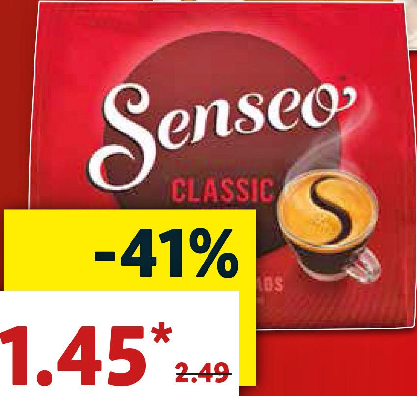 Senseo Kaffeepads für 1,45€ [Lidl ab 20.08.]