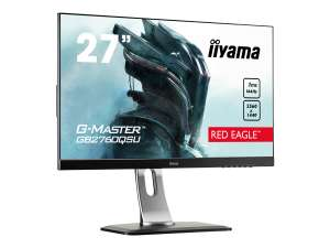 "iiyama G-Master GB2760QSU-B1 Red Eagle Monitor 27"" WQHD, TN, 1ms, 144Hz, Freesync, Pivot"