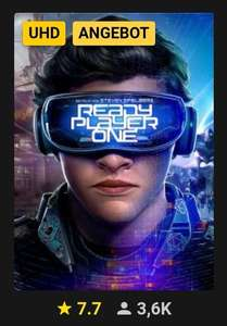 Ready Player One bei Rakuten.tv in HD und UHD für 6,99 EUR (Digital)