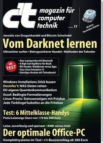 [Heise] c't Magazin Miniabo (6 Ausgaben) mit Sonderheft c't Security 2018 (i.W.v.12,90€) und 15€ Amazon-Gutschein