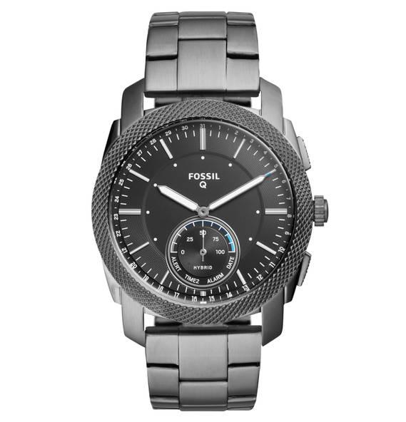 Lokal - Fossil Hybrid Smartwatch Herrenuhr - Grau FTW1166