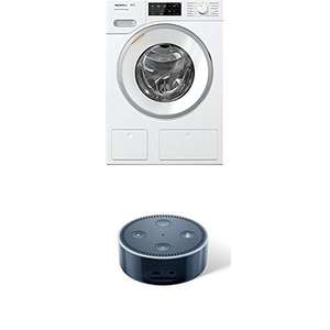 Miele WWE 660 WCS Waschmaschine + Amazon Echo Dot (2.Gen)