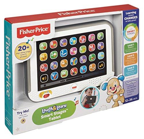 Fisher-Price Mattel CDG57 Lernspaß Tablet, grau