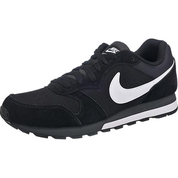 Nike MD Runner 2 schwarz/weiß für 22,99€ (viel Größen)