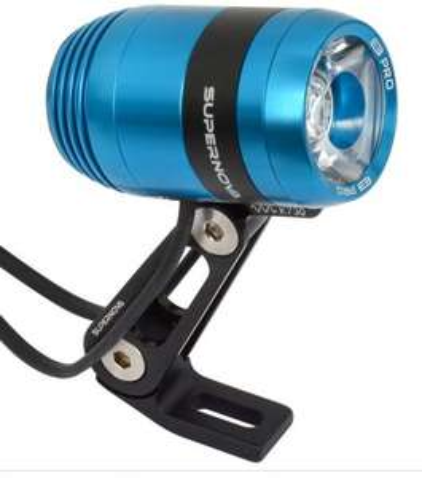 [Bike-Discount.de] Edler Fahrradscheinwerfer Supernova E3 Pro 2 nur in blau