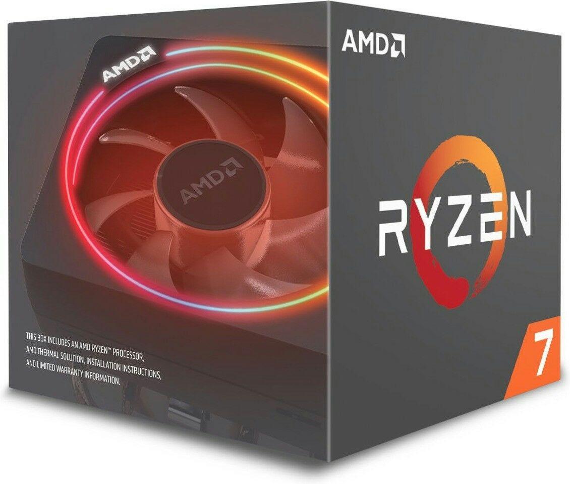 AMD Ryzen 7 2700 Prozessor - 8 Kern, 3.2GHz (Boxed) mit Wraith Spire Kühler + Asus Prime A320M-K (Mindfactory)