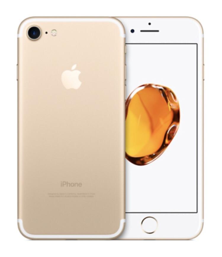 EBay.de - Apple iPhone 7 - 128GB - Gold (Ohne Simlock) A1778 (GSM) Neuware Bulk