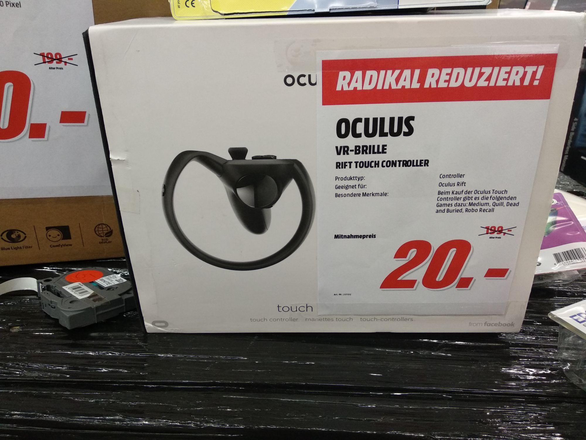 [Lokal MM Eschweiler] Oculus Rift Touch Controller  (einzeln)