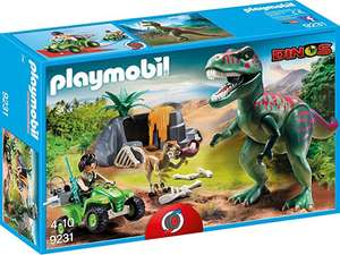 Playmobil 9231 T-Rex Angriff