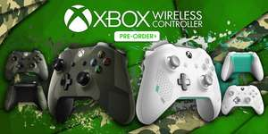 [amazon] Microsoft Xbox One Wireless Controller in Sport White oder Armed Forces II - Special Edition für je 51,97€