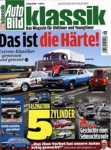 Auto Bild Klassik  - 1 Jahr (12 Ausgaben) für 57,60  € mit 50 € BestChoice Universalgutschein