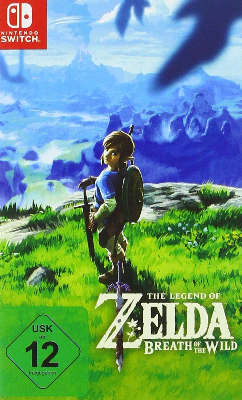 Nintendo Switch - The Legend of Zelda: Breath of the Wild für €44,77 [@Real.de]