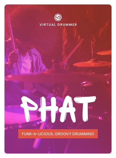 UJAM Virtual Drummer PHAT | virtuelles Schlagzeug | Audio-Plug-in (VST/AU/AAX)