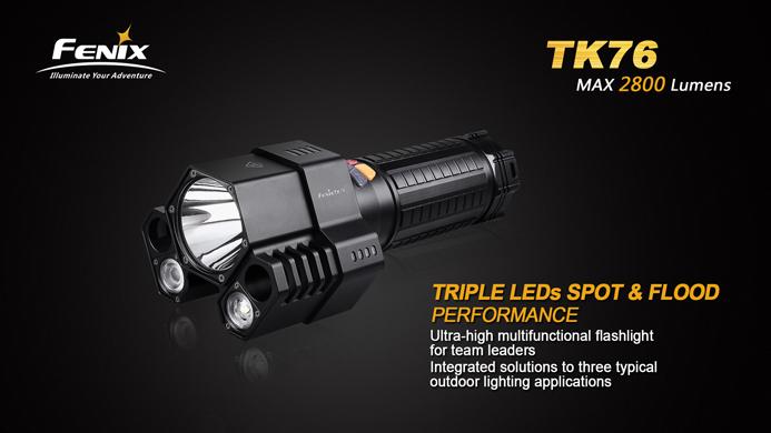 Fenix TK 76 Hochleistungstaschenlampe 2.800 Lumen