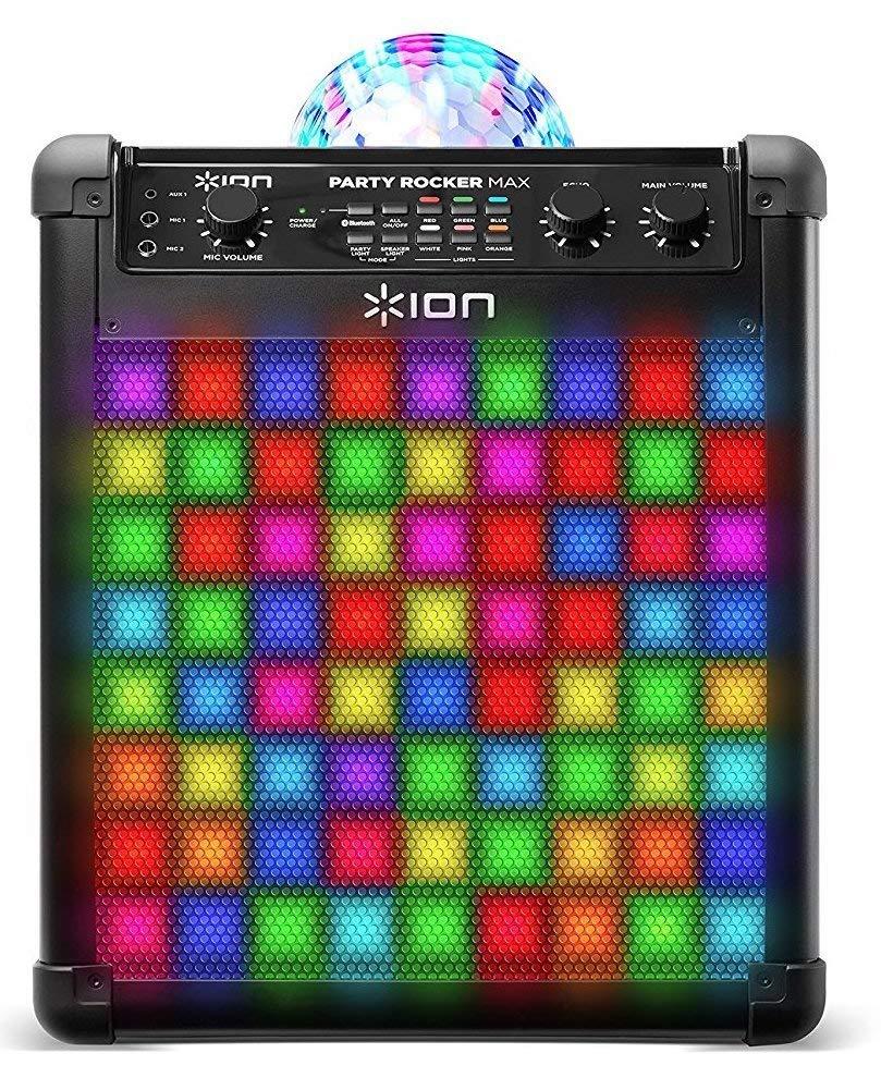 ION Party Rocker Max für 208,99€ - mobiles Soundsystem mit LEDs & Diskokugel, integriertem Akku und 100 Watt Musikleistung