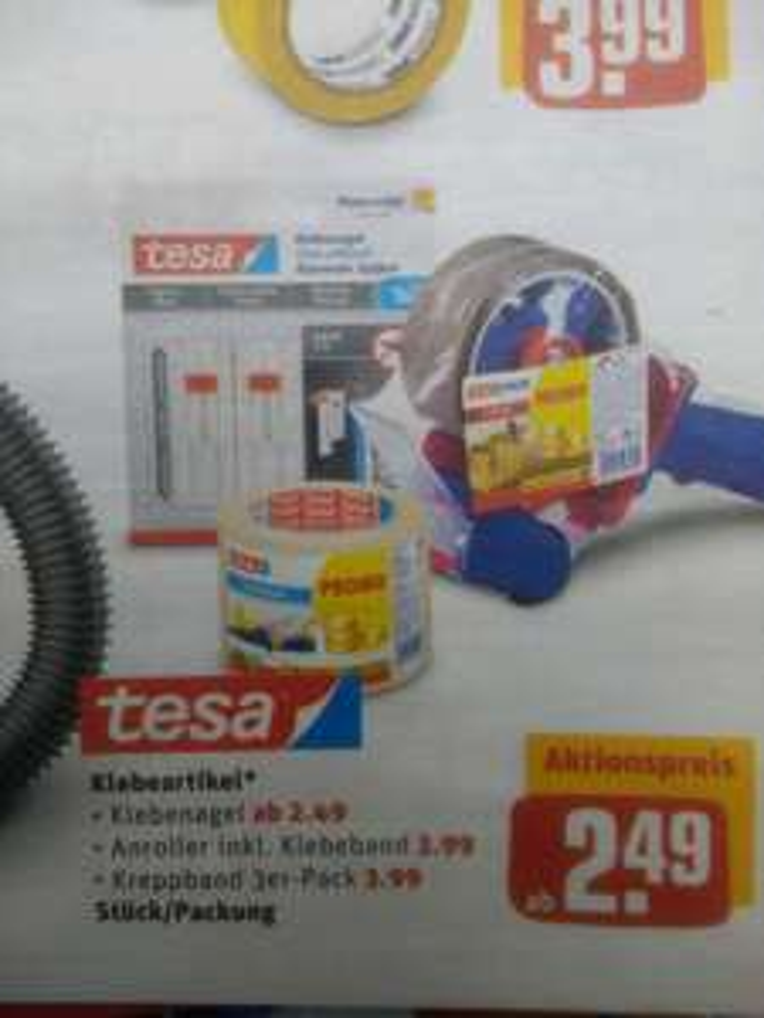 REWE Center: Tesa Abroller incl. Klebeband