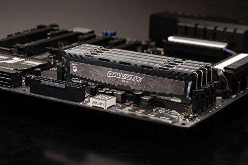 Crucial Ballistix Sport LT grau DIMM Kit 8GB, DDR4-2666, CL16-18-18, DUAL RANK (Prime)