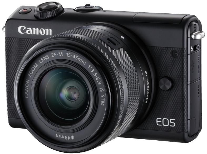 Digitalkameras im Angebot bei Media Markt, z.B. Canon EOS M100 Kit 15-45 mm für 299€ + 50€ Cashback, Sony FDR-X3000R 4K ActionCam Travel Kit für 349€ oder Canon EOS 750D Kit DFIN 18-55 mm III für 444€
