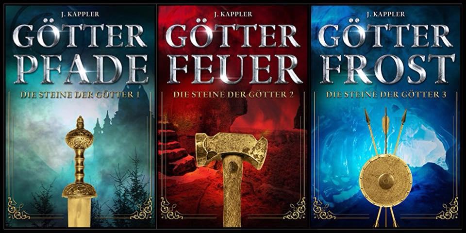Gratis Ebooks - Die Steine der Götter (Band 1-3) [Kindle]
