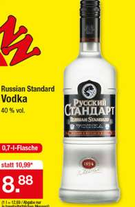 [Zimmermann] Russian Standard Original Vodka für 8,88€