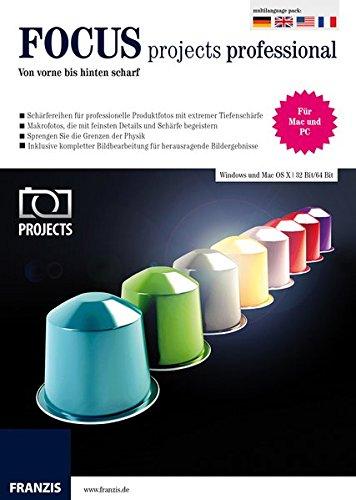 Fotoprogramm Focus Projects Professional als kostenlose Vollversion