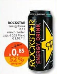 ROCKSTAR Energy Drink 0,85 €