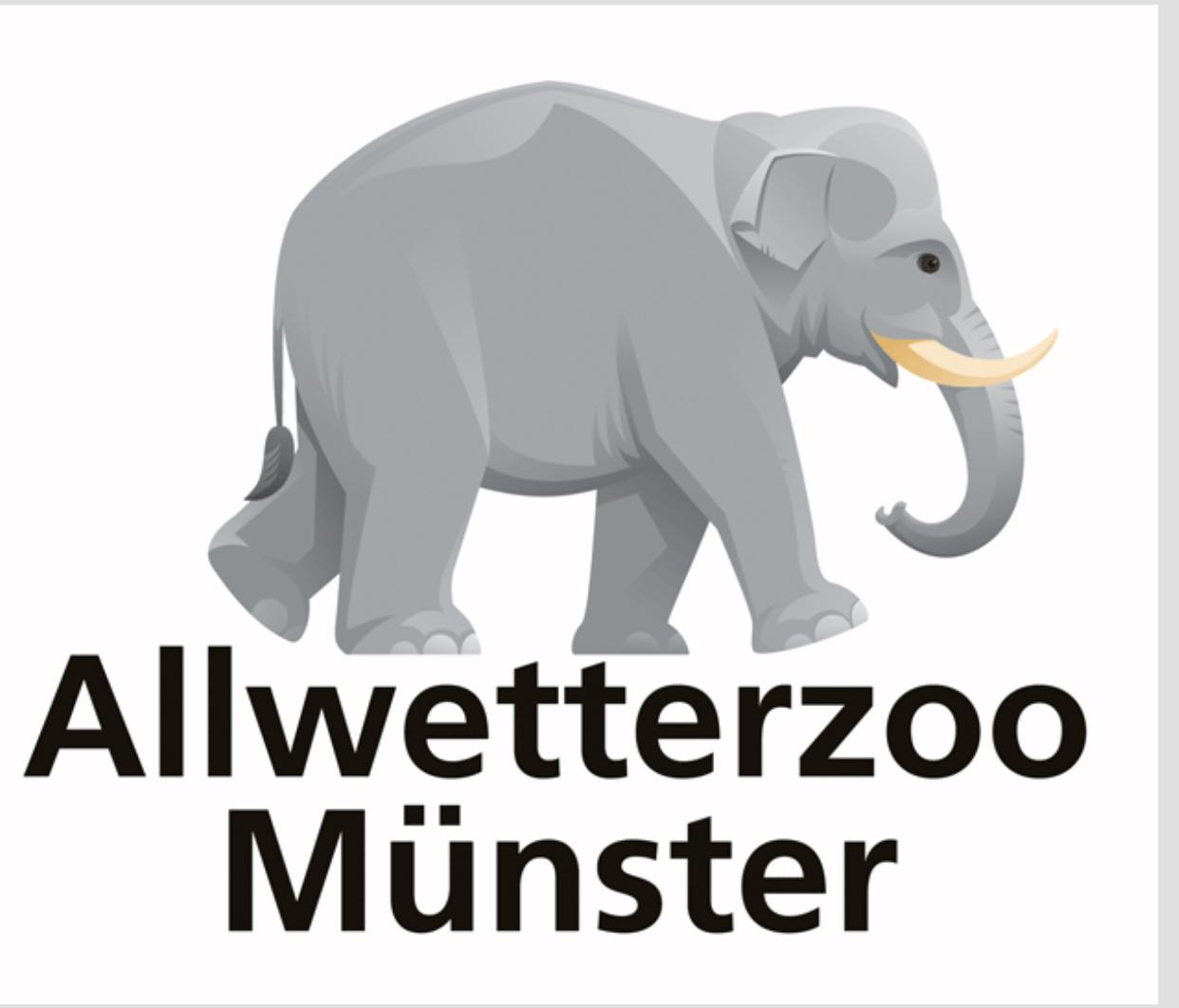 Lokal Münster. Allwetterzoo Familienkarte 3 Monate für 49,- € / Einzelticket 24,- €
