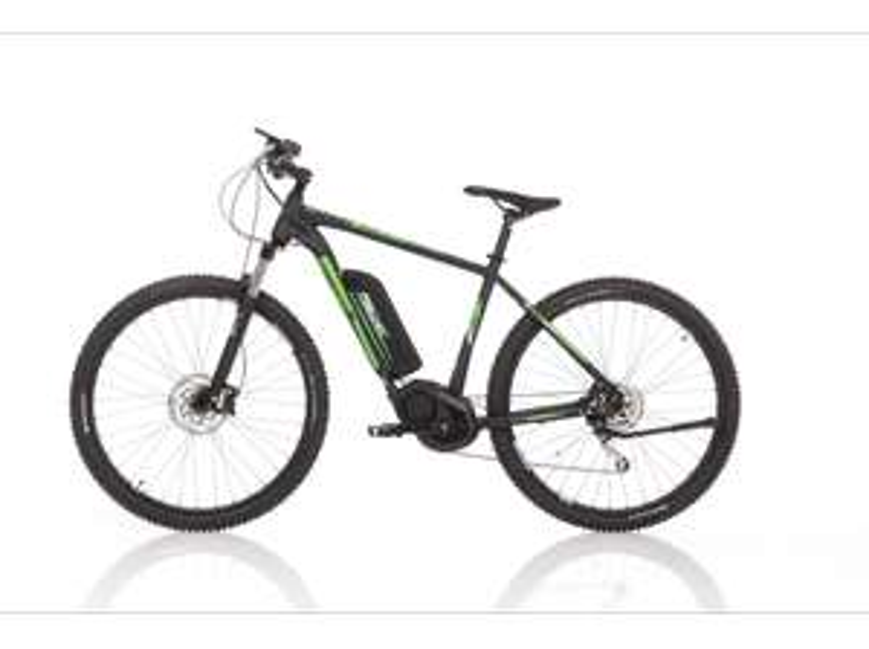 "Fischer E-Bike Mountain EM 1865, Schwarz, 29"", RH 51 cm, Mittelmotor 48 V/557 Wh, Shimano XT-Schaltwerk, LCD-Display inkl. Navi-App, Suntour XCM 100mm Federung"