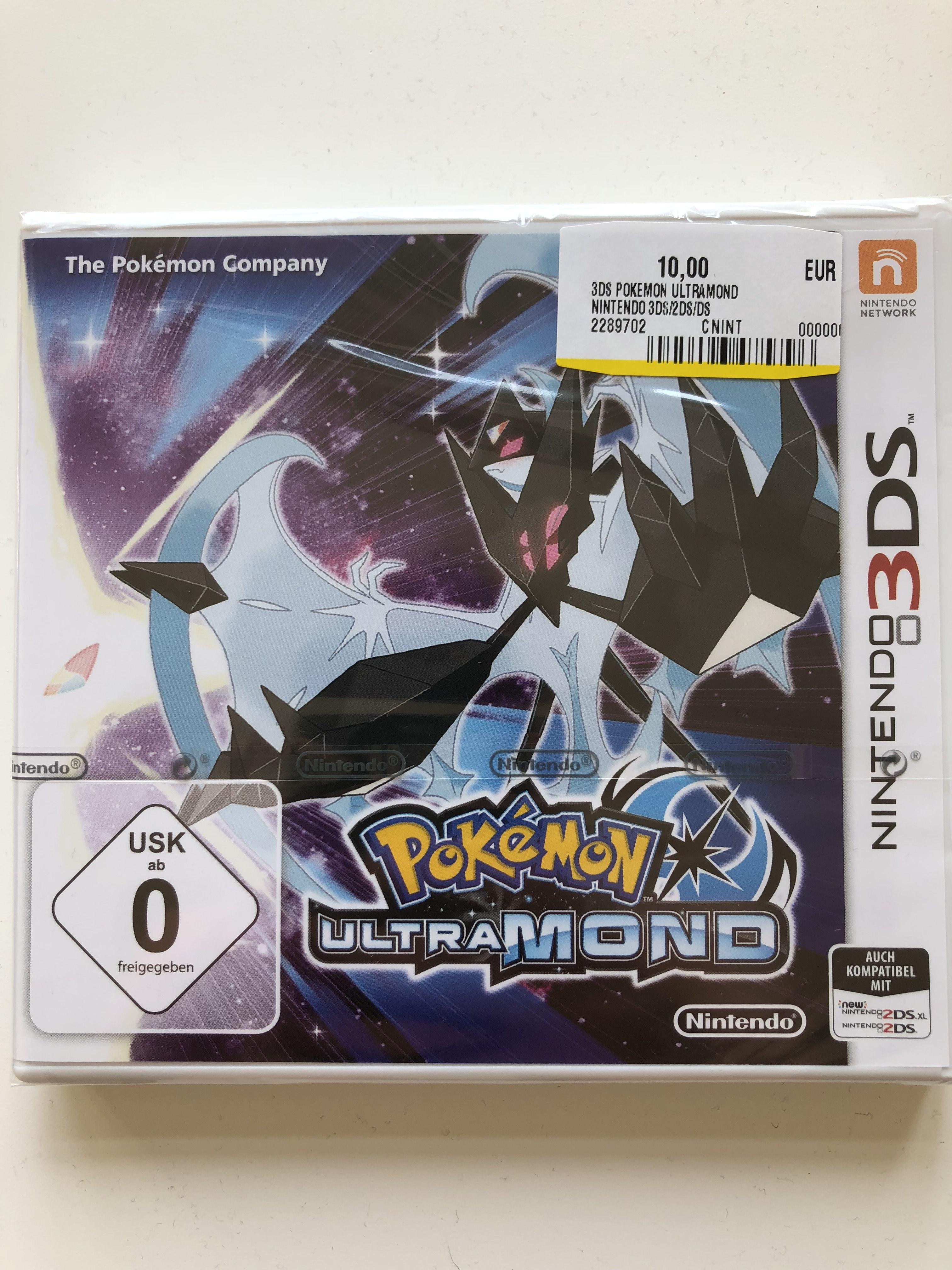 [Mediamarkt Potsdam] Pokemon Ultramond Nintendo 3DS für 10€ (auf Gamestop Eintauschliste)