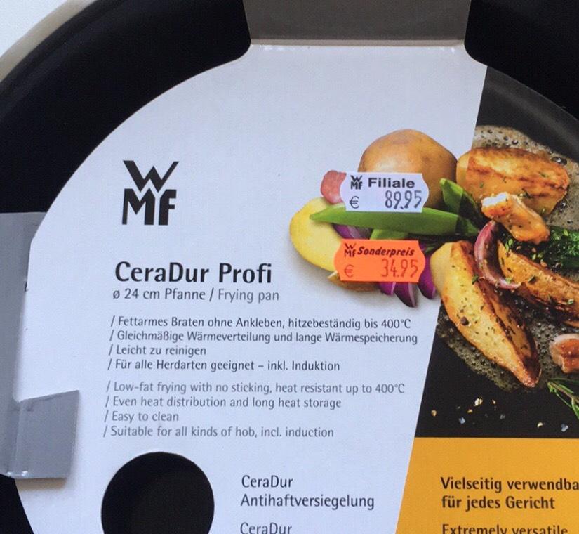 [lokal WMF in Essen] Pfanne Ø 24 cm CeraDur Profi