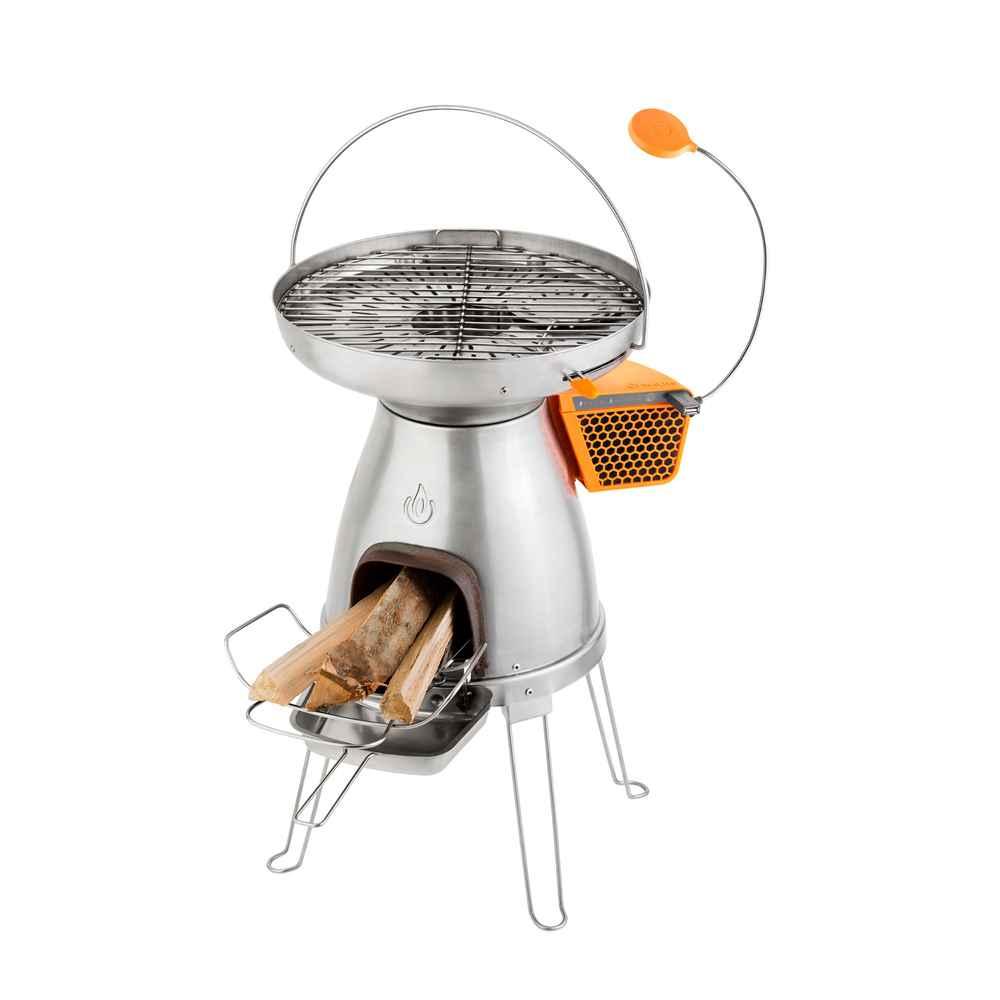 Feuerstelle BaseCamp & FlexLight  (Kochen und 5W USB-Stromgenerator)