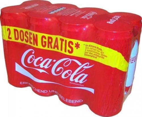 REWE Angebot - 8 Coca cola