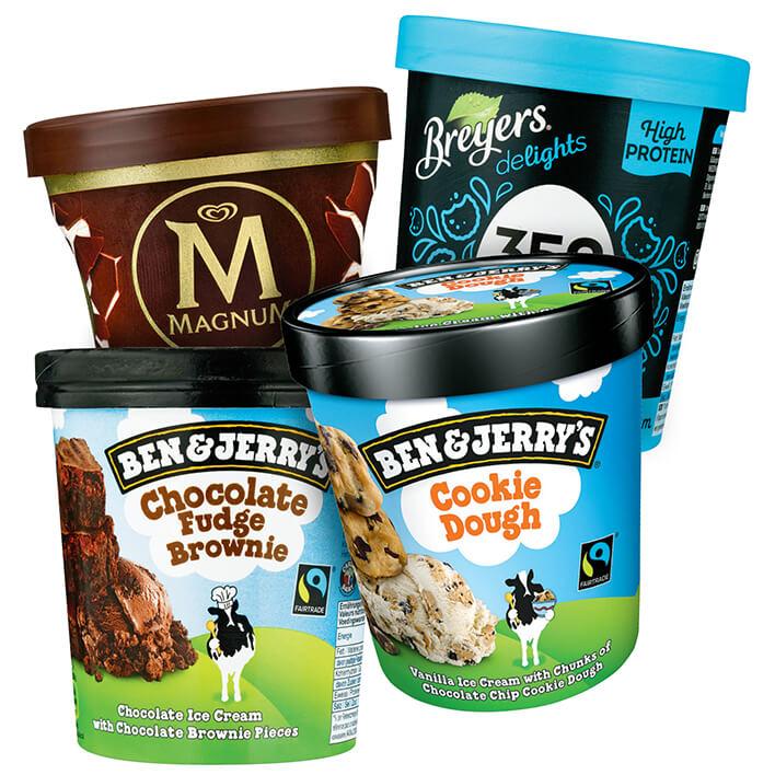 [GRENZGÄNGER NL] AH / Albert Heijn - Ben & Jerry's Eis ab 3,84€ (Vegan auch) | Magnum Bechereis 3,07€