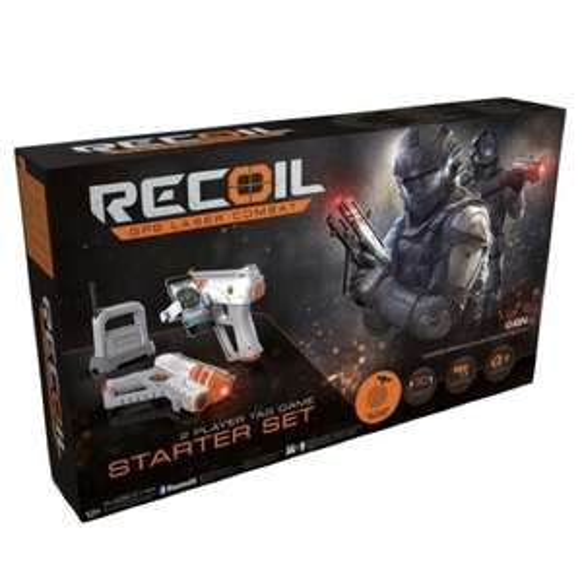 Goliath Toys RECOIL GPS Handy Laser Tag Combat Starter Set mit WLAN Base