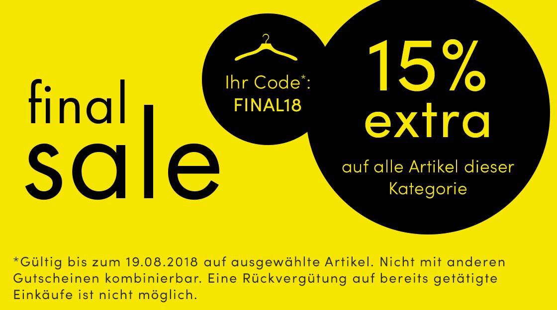 15% extra im Breuninger-Online-Shop