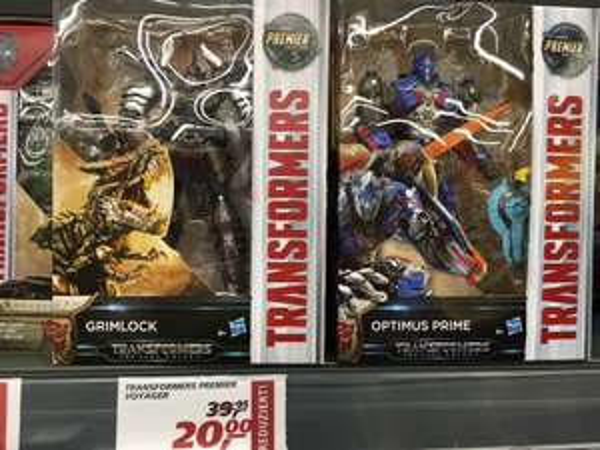 Hasbro Transformers Premier Voyager für 20€ [REAL Bochum lokal]