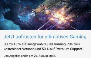 15% auf Dell (Alienware) Notebooks