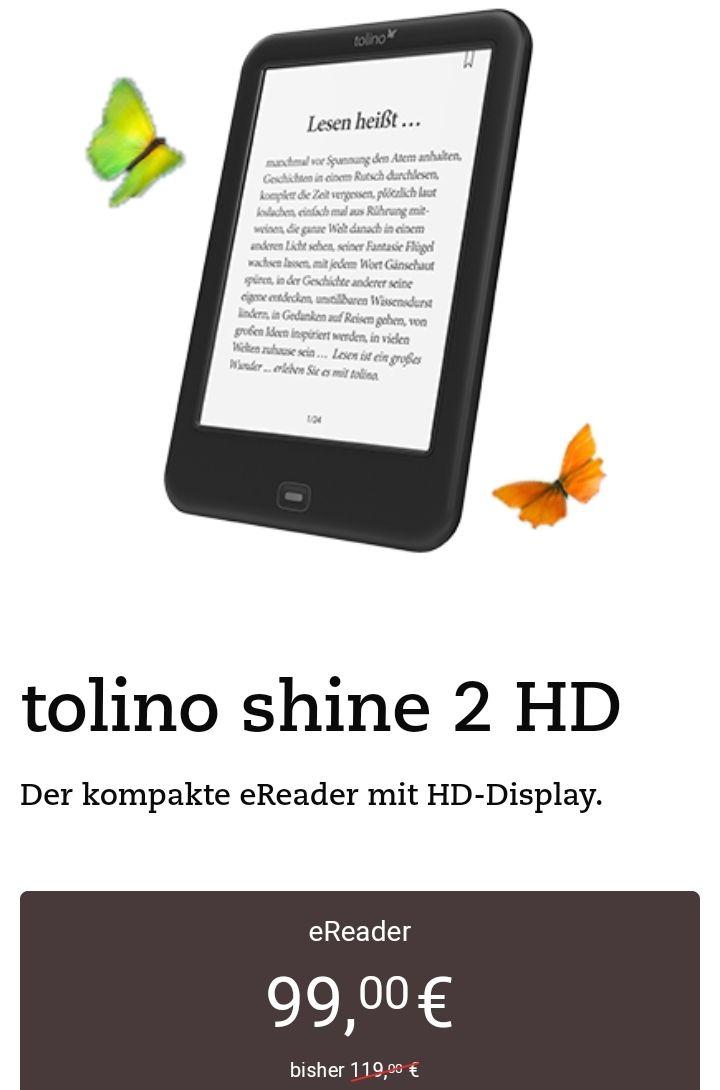 Tolino Shine 2D eReader