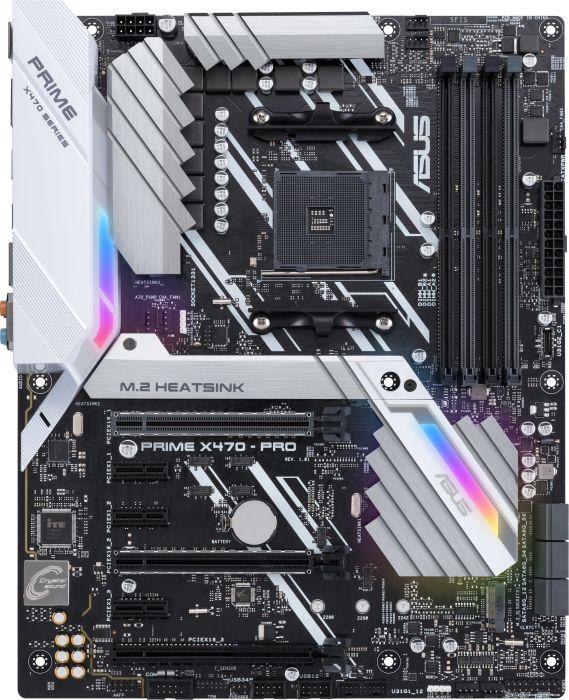 [Alternate] ASUS PRIME X470-PRO, Mainboard, ATX, AM4, AMD, M.2, RGB, USB 3.1 für 150,89€ (optional mit Masterpass für 125,89€)