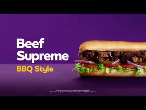 SUBWAY - Beef Supreme 15cm für nur 2€