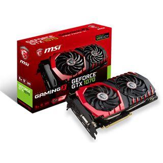 8GB MSI GeForce GTX 1070 GAMING X 8G Grafikkarte