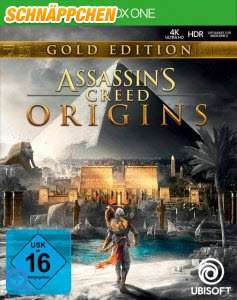 Xbox One - Assassin's Creed: Origins Gold Edition inkl. Season Pass - deutsche Discversion