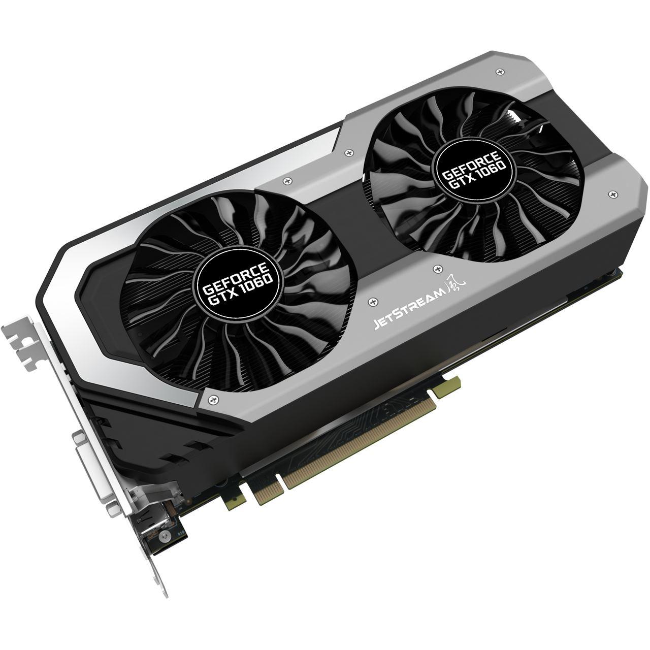 Palit GeForce GTX 1060 Super JetStream Grafikkarte 6GB