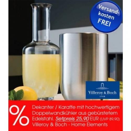 [online] tableware24 - Villeroy & Boch Weinkühler mit Karaffe (auch als Vase geeignet)